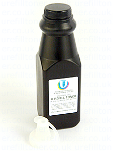 HP Color LaserJet M750 toner refill bottle