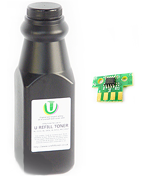 CS417dn toner refill bottle